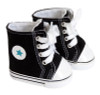 Black Star High-Top Sneakers for 18 inch dolls