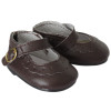 18 inch American Girl Doll shoes - Dark Brown Mary Janes