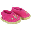 American Girl doll shoes - Pink Butterfly Shoes