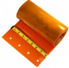 """8"""" Safety Orange Replacement Strip Curtain Strip"""