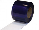 "Quick Strip Bulk Strip Curtain Roll 6"" Freezer"