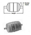 Sporlan Catch-All C-083-S ODF 3/8 Filter Dryer