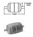 "Sporlan Catch-All C-162-S ODF 1/4"" Filter Dryer"