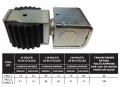 Sporlan Solenoid Valve Coil Kit MKC-2;120/208-240V/50/60HZ 15W