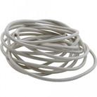 Wire,hi-temp, 14ga,392f,10',wht - AP.36621
