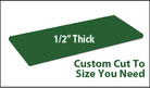Custom Cutting Board - 1/2 Inch Thick - Green