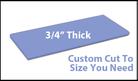 Custom Cutting Board - 3/4 Inch Thick - Blue