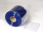 "Bulk Strip Curtain Roll 6"" Cooler Smooth"