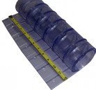 """Cooler Replacement Strip Curtain Strip 12"""" Ribbed"""