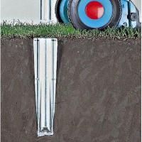 Brabantia sol métallique Spear 50mm pour l'avance LOM