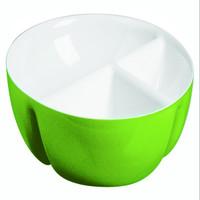 Guzzini bi-ton hor-d'oeuvres plat en vert