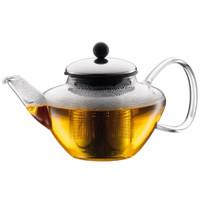 Bodum Classic Tea Press avec filtre en acier inoxydable et couvercle
