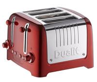 46211 Dualit 4 fentes Lite Peek N Pop grille-pain en rouge