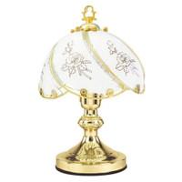 Lampe de table tactile traditionnel Lloytron - Rose Design