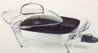 Prima Gourmet Cuisinière / Electric panoramique multiples avec couvercle en verre