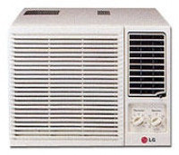 LG LWC1262 fenêtre climatiseur et fixation au mur