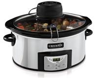Crock-Pot de 5,7 litre Mijoteuse  avec Auto-Stir - Inox