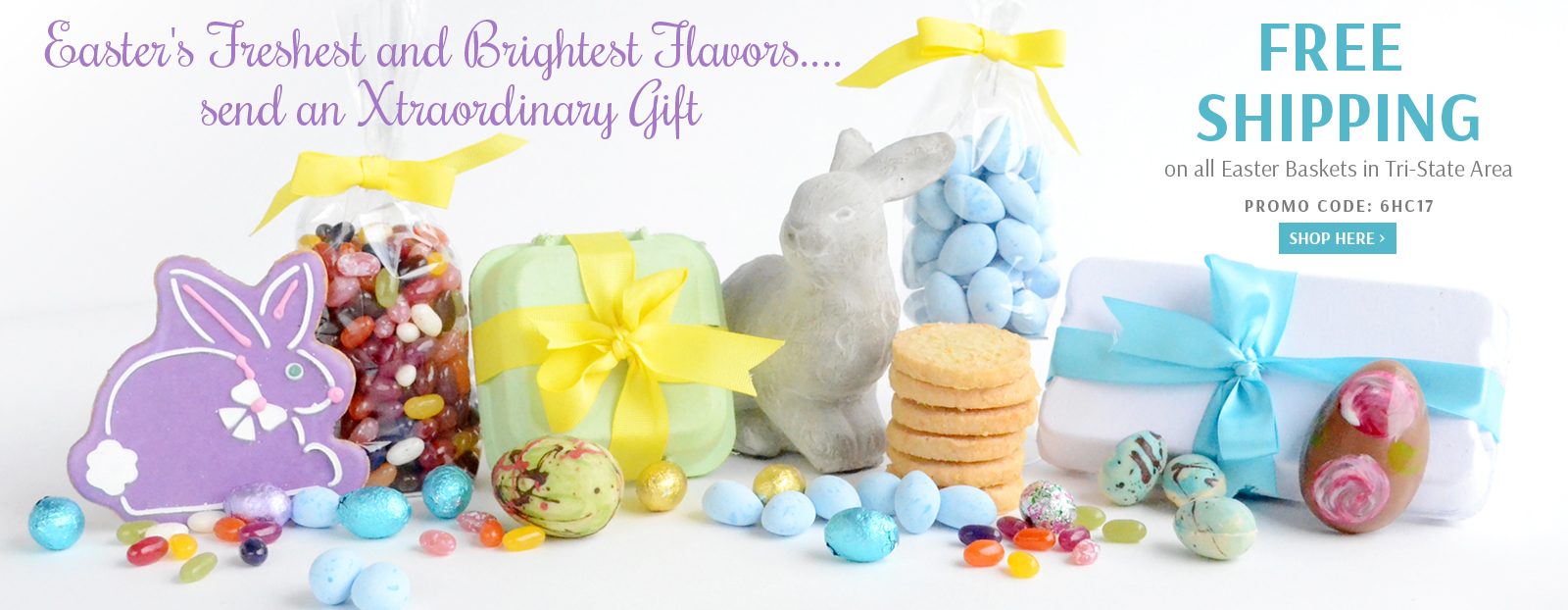 Free Shipping on all Easter Baskets in Tri-State Area