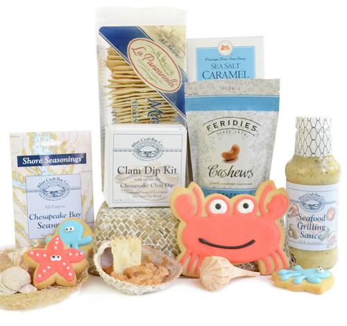Seaside Gourmet Gift Basket