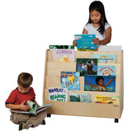 Wood Designs Double-Sided Book Display [WD34200]