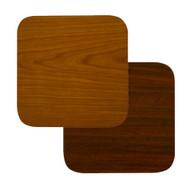 "BFM Seating 24""x24"" Laminate Restaurant Table Top - Cherry / Dark Mahogany Reversible [CM2424]"
