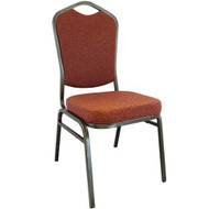 Advantage Cinnamon Crown Back Banquet Chair [CBHT-107]