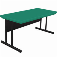 Correll 6 ft. Computer Table - Keyboard Height Blow-Molded Top [RCS3072]