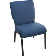 Advantage Medium Blue Concealed Back Church Chair [PCHTCB-MB]