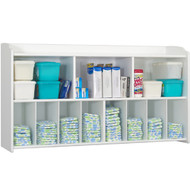 Foundations Serenity White Wall-Mounted Diaper Organizer [1772127]