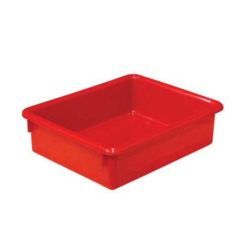 wood designs 3 inch red plastic letter tray classroom With red plastic letter tray