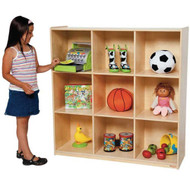 Wood Designs Deep 9 Cubby Storage Unit [WD50900]