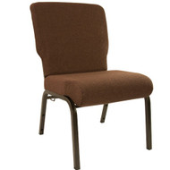 Advantage Java Church Chair 20.5 in. Wide [PCHT-106-GV]