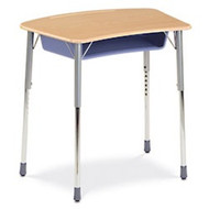Virco ZUMA Adjustable Height Open Front Student Desk [ZADJ2031BOXM]