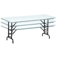 Correll RA3072 6 ft. Correll Adjustable Folding Tables