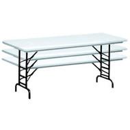 Correll RA3072 6 ft. Correll Adjustable Folding Tables