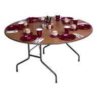Correll CF48PX 4-ft Round Folding Banquet Table