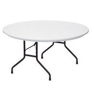 Correll R60 5-ft Plastic Round Folding Table
