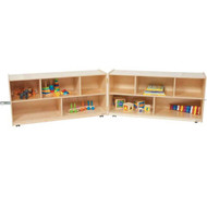 Wood Designs Folding Classroom Storage Unit [WD12500]