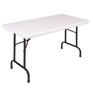 Correll R2448 4-ft Long Plastic Folding Table