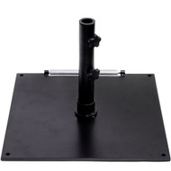 BFM Seating Market Umbrella Base - Stand Alone Use [UB75SQBL]