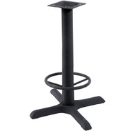BFM Seating 30x30-in. Bar Height Bar & Restaurant Table Base with Footring [TB-3030TFR]