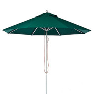 BFM Seating 9 ft. Aluminum Market Umbrella - Aluminum Frame [U9A]