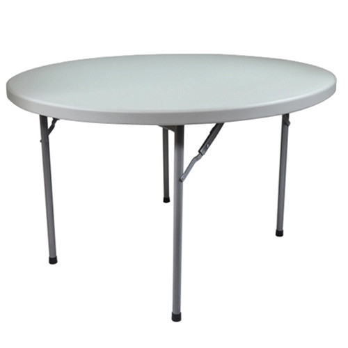 Advantage 6 39 round plastic folding table ftd72r 6 ft for 10 foot round table