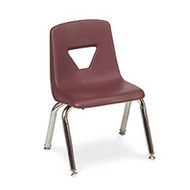 Virco 2012 4-leg Classroom Stack Chair - 12-inch Seat [2012]