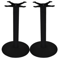 Set of 2 - Advantage 17-in. Round Bar & Restaurant Table Bases [CTTR17-2]