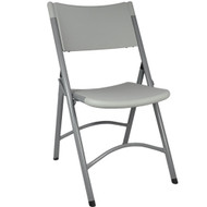 Advantage Plastic Folding Chair - Grey Granite [FCBM-1GREY]