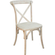 Advantage Lime Wash X-Back Chair [X-back-LW-EC]
