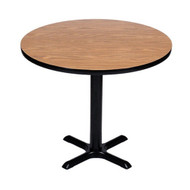 Correll BXB36R 36-in Round Bar Height Cafe Table
