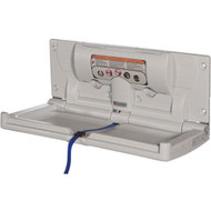 Foundations Horizontal Surface Mount Plastic Changing Station [100-EH-BP]