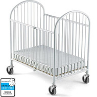 Foundations Pinnacle Full-Size Steel Folding Crib [1311097]